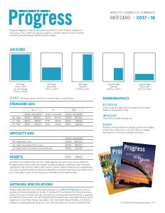Progress Magazine Rate Card 2017-2018
